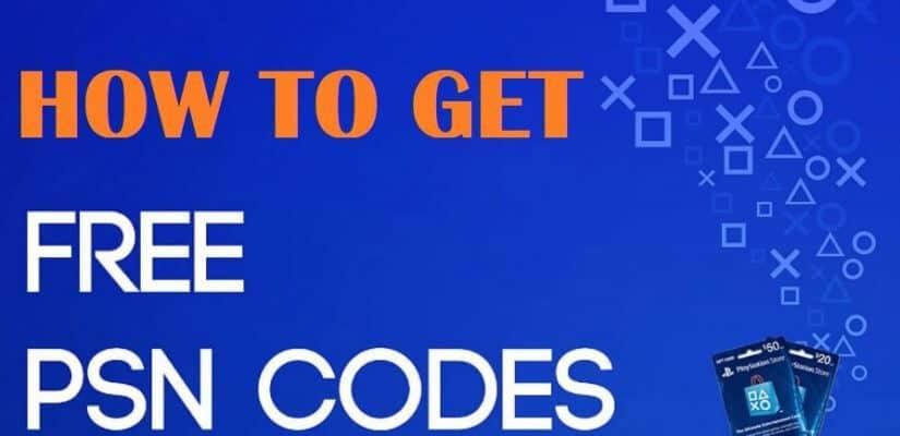 Free PSN Code List Generator